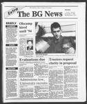 The BG News December 17, 1990