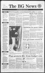 The BG News January 15, 1991