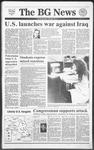 The BG News January 17, 1991