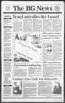 The BG News January 18, 1991