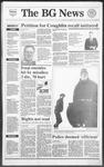 The BG News January 23, 1991