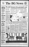 The BG News February 21, 1991
