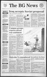 The BG News February 22, 1991