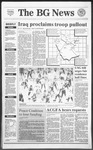 The BG News February 26, 1991