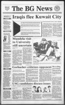 The BG News February 27, 1991