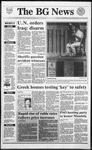 The BG News April 4, 1991