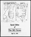 The BG News April 15, 1991