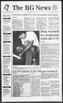 The BG News September 19, 1991