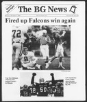 The BG News October 7, 1991