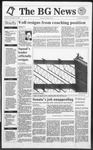 The BG News October 15, 1991