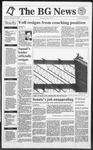 The BG News October 15, 1991