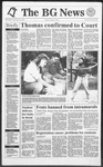 The BG News October 16, 1991