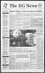 The BG News October 17, 1991