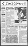 The BG News October 22, 1991