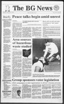 The BG News October 31, 1991