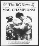 The BG News November 4, 1991