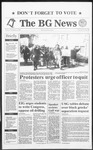 The BG News November 5, 1991