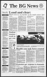 The BG News November 7, 1991