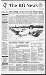 The BG News November 8, 1991