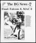 The BG News November 18, 1991