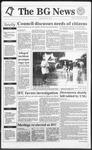 The BG News November 19, 1991