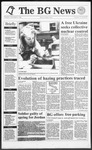 The BG News December 3, 1991