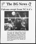 The BG News December 9, 1991