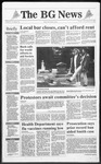 The BG News December 13, 1991