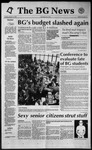 The BG News January 14, 1992