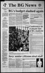 The BG News January 14, 1992