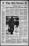 The BG News January 17, 1992