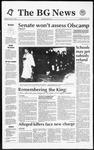 The BG News January 21, 1992