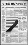 The BG News January 22, 1992