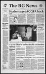 The BG News January 24, 1992