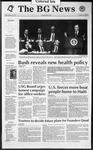The BG News February 7, 1992