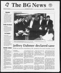 The BG News February 17, 1992