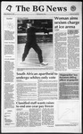 The BG News February 21, 1992