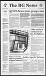 The BG News March 3, 1992