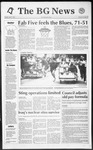 The BG News April 7, 1992