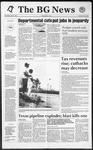 The BG News April 8, 1992