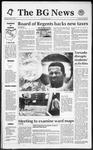 The BG News April 21, 1992
