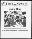 The BG News April 27, 1992