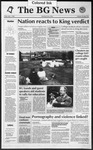 The BG News May 1, 1992