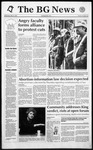 The BG News May 27, 1992