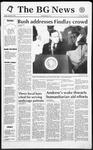 The BG News August 28, 1992