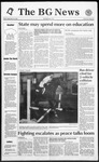 The BG News September 18, 1992