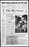 The BG News September 22, 1992