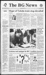 The BG News September 25, 1992