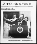 The BG News September 28, 1992