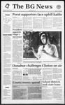 The BG News October 8, 1992
